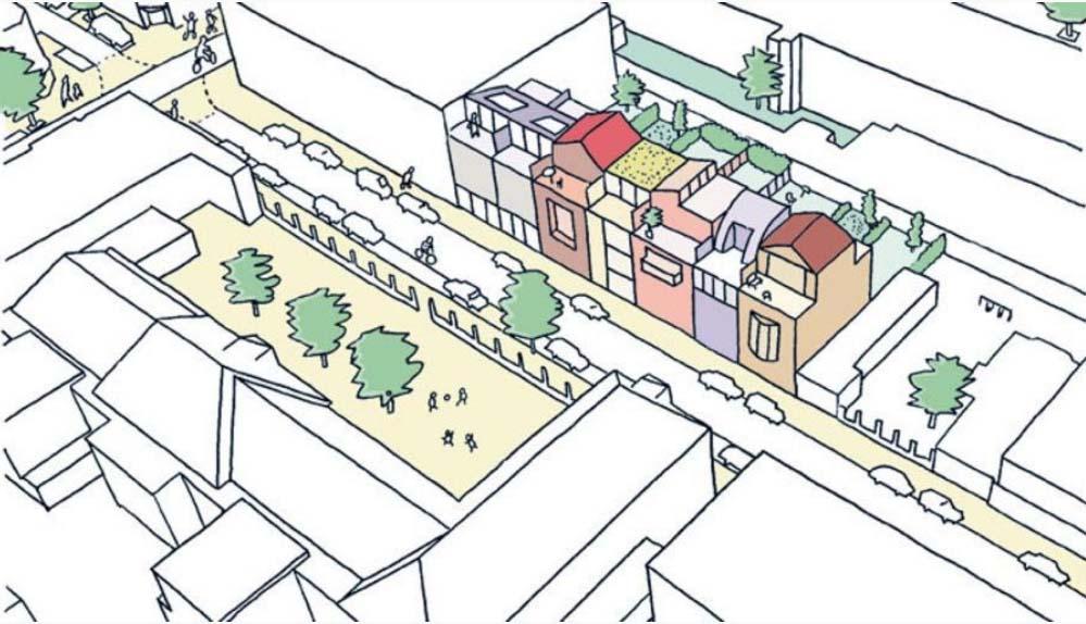 Acasiastraat - Eindresultaat project Bee Pee HOUT bouw